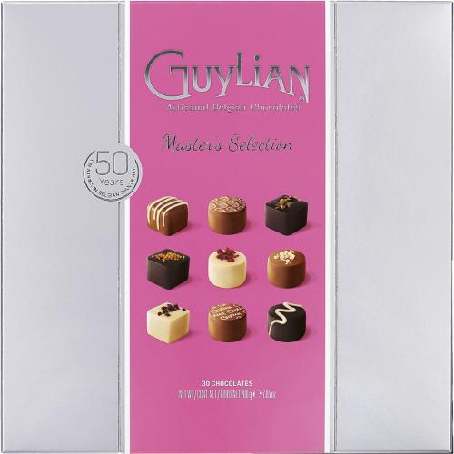 Bombón masters selección de Guylian (Estuche de 200 g) – Caja de 6 unidades
