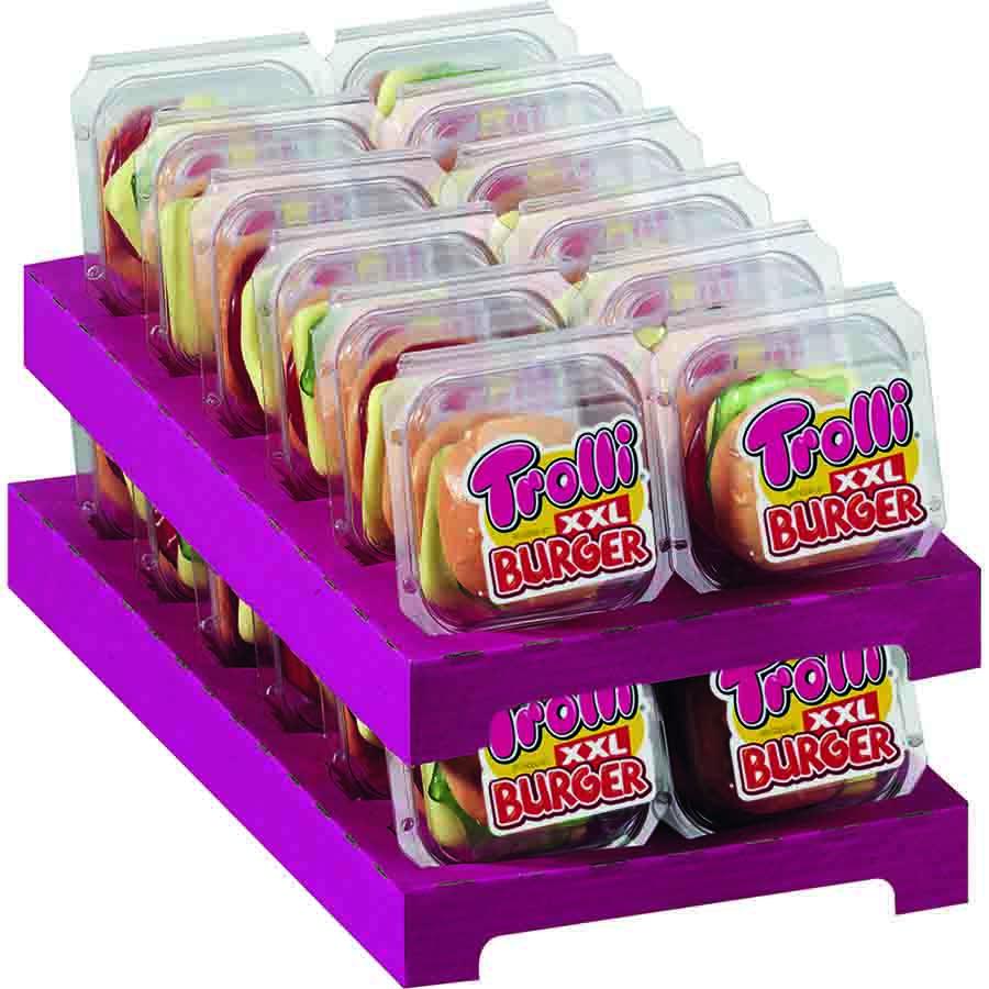 Burger de Trolli (50 g) – Caja de 24 unidades