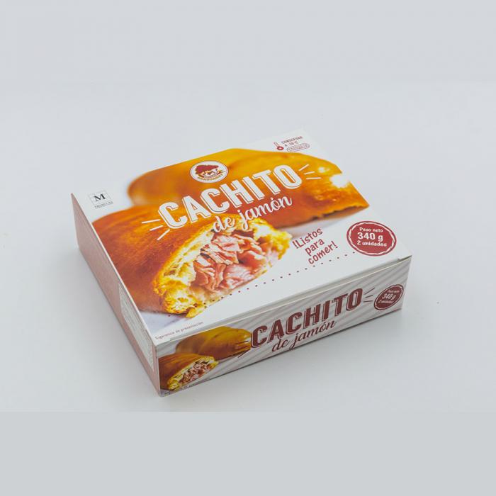Cachitos de jamón y bacon de Antojos Araguaney (340 g) – Caja de 20 unidades