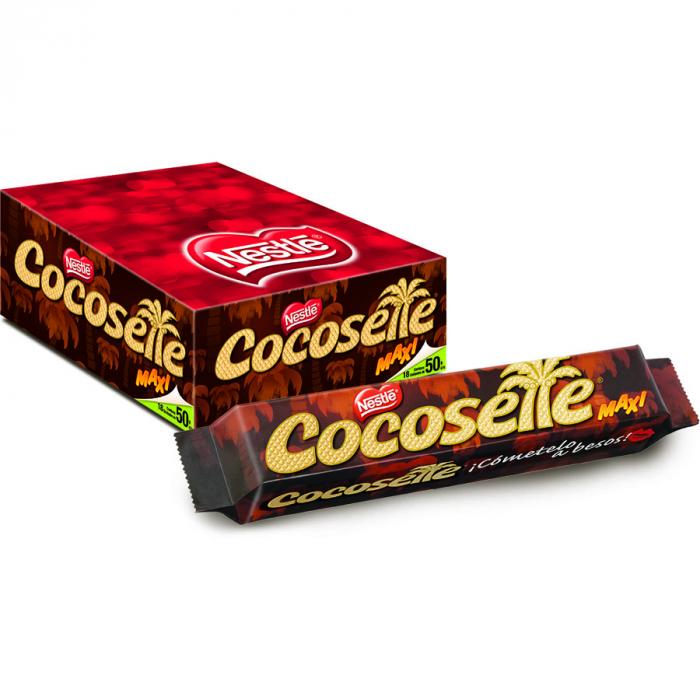 Cocosette display (18x50 g) – Caja de 1 unidades