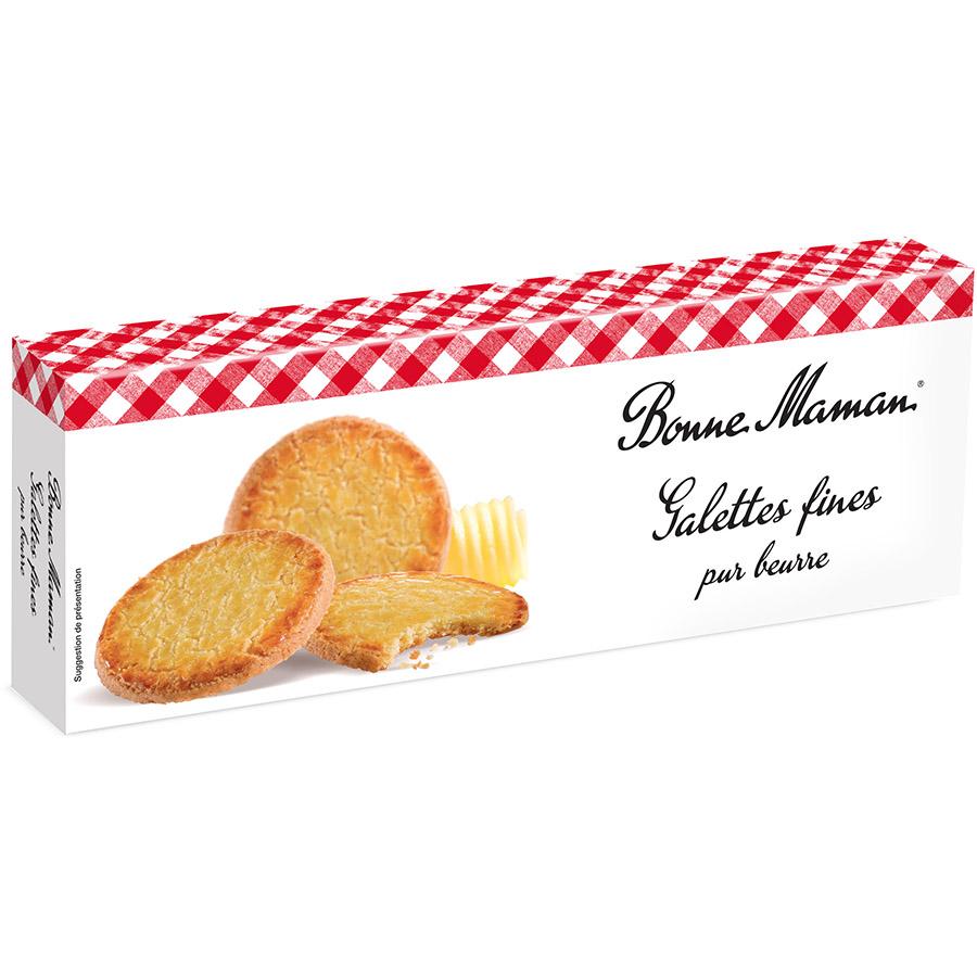 Fines galettes de Bonne Maman (Estuche de 90 g) – Caja de 12 unidades