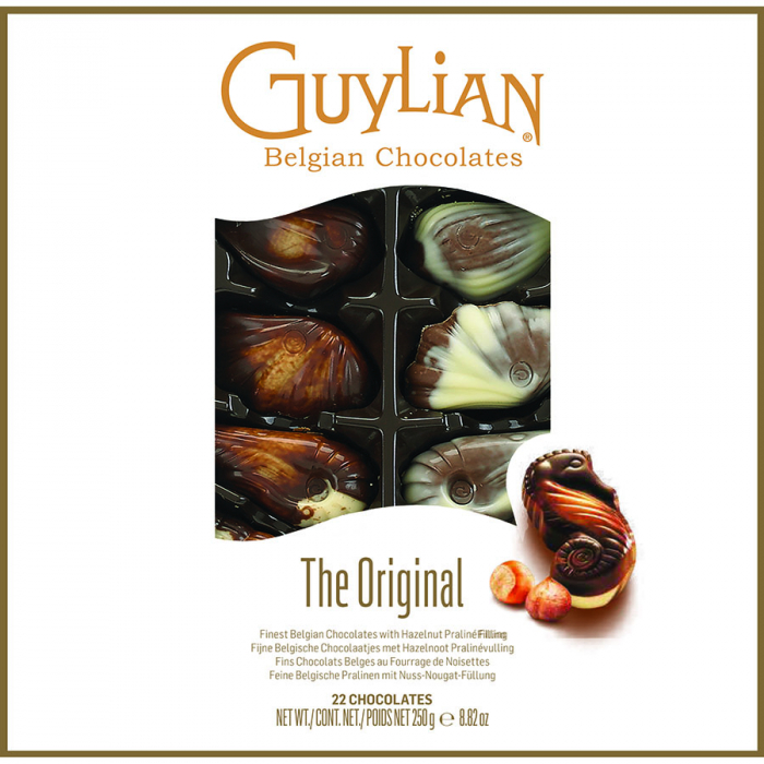 Frutos del mar de Guylian (Estuche de 250 g) – Caja de 12 unidades