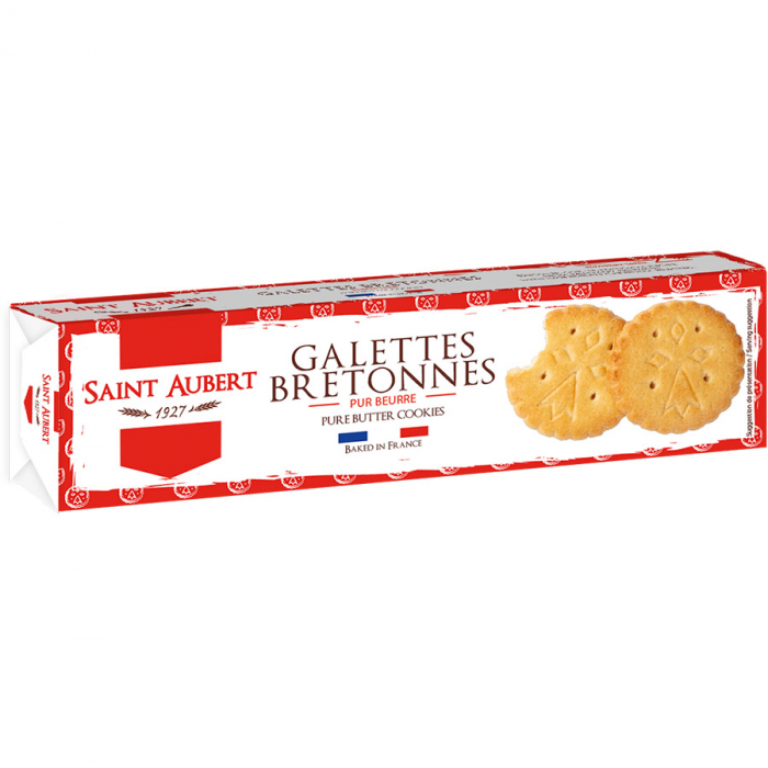 Galettes de Saint Aubert (Estuche de 125 g) – Caja de 24 unidades