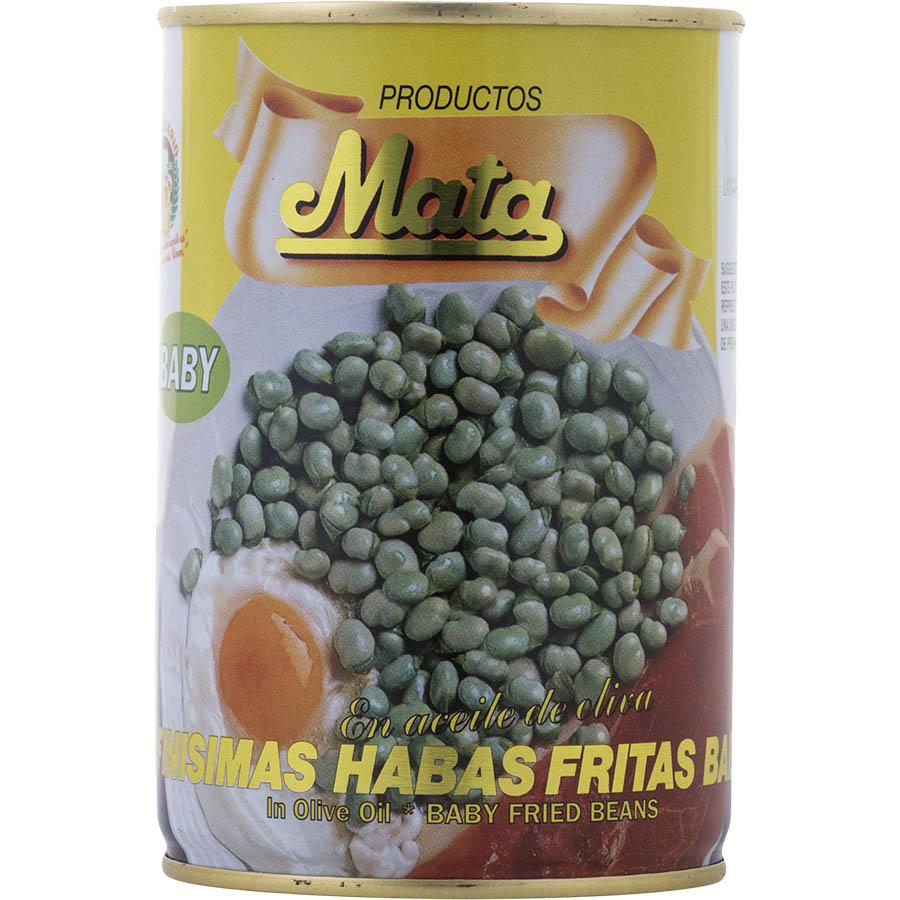 Haba frita baby de Mata (Lata de 400 g) – Caja de 12 unidades