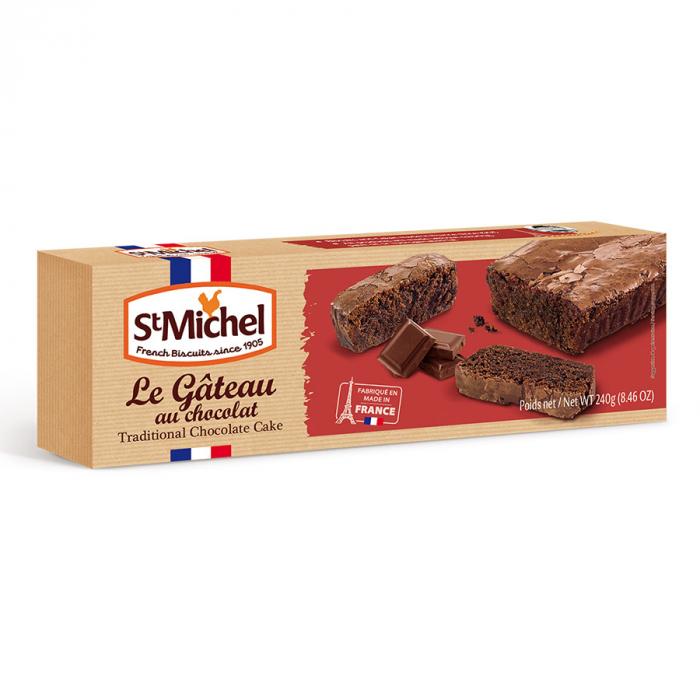 Le gateau chocolate de Saint Michel (Estuche de 240 g) – Caja de 12 unidades