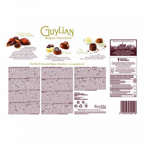 Les exclusives de Guylian (Estuche de 305 g) – Caja de 6 unidades