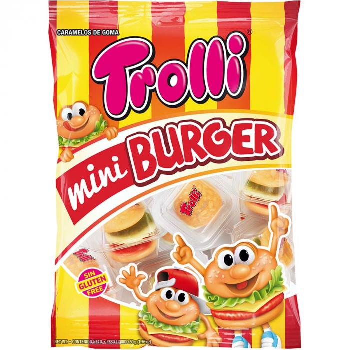 Mini burger (Bolsa de 50 g) – Caja de 24 unidades