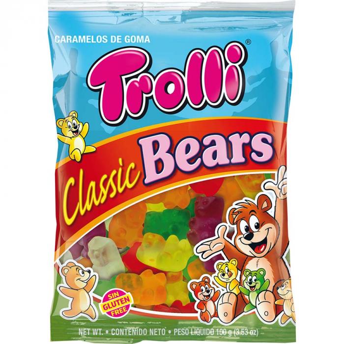 Ositos de Trolli (Bolsa de 100 g) – Caja de 12 unidades