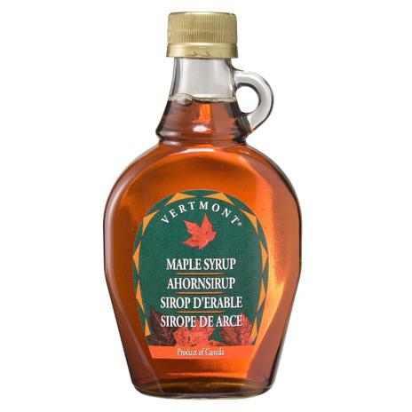 Sirope de arce puro de Vermont (Botella de 250 g) – Caja de 6 unidades