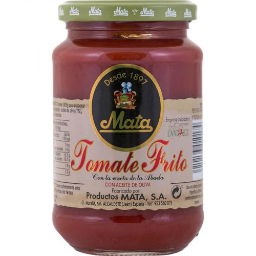 Tomate frito de Mata (Frasco de 370 g) – Caja de 24 unidades